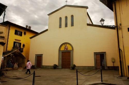 Montespertoli - S. Andrea...... ex     cappella del castello..........................