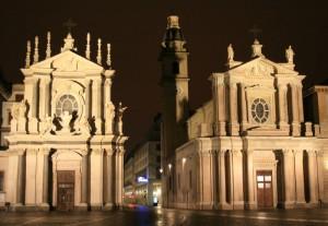 Chiese di Santa Cristina e San Carlo - Piazza San Carlo