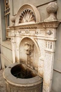 Fontana adiacente Chiesa di S.Maria
