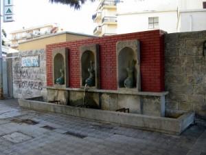 Le Tre fontane della Rotonda