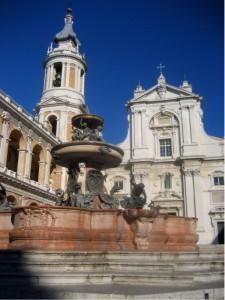 La fontana del Santuario