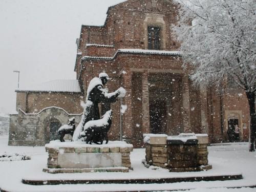 Vercelli - Un fiocco su ... San Francesco