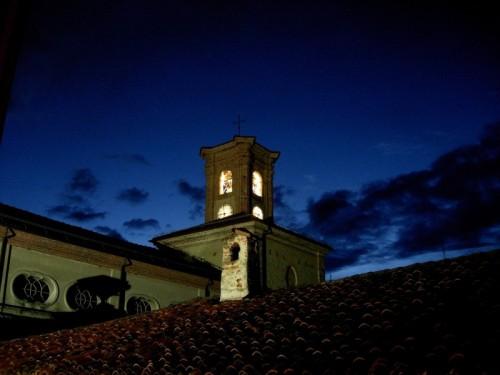 Rocca Canavese - Campanile della Chiesa Parrocchiale di Santa Maria Assunta