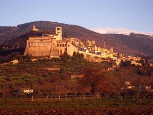 Assisi - S. Francesco al tramonto