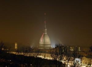 La Mole Antonelliana by night