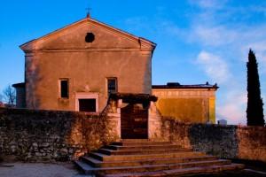 Chiesa del Castello medioevale di Caneva