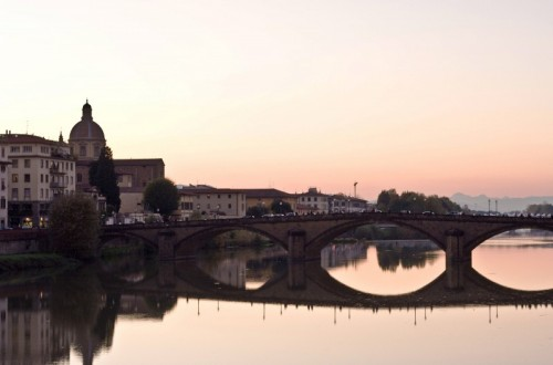 Firenze - La Cupola di San Frediano immersa in un tramonto
