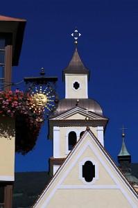 Particolare di Chiesa a Bressanone
