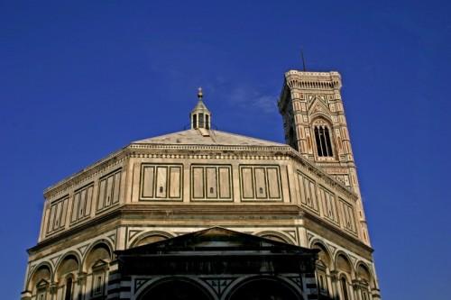Firenze - Battistero S. Giovanni e Campanile di Giotto