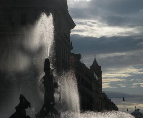 Roma - La grande esedra di Roma