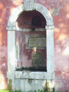 La fontana della Fata Morgana.