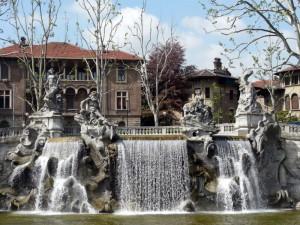La Fontana dei Mesi - Parco del Valentino