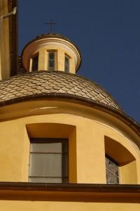 chiesa di san francesco - cupola