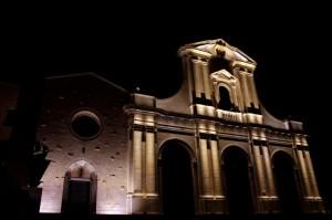 Basilica di Bonaria - vista laterale.
