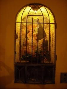 Tabernacolo della chiesetta di Borghetto di Valeggio sul Mincio (VR)