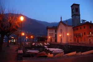 Chiesa di S.Tecla al primo mattino