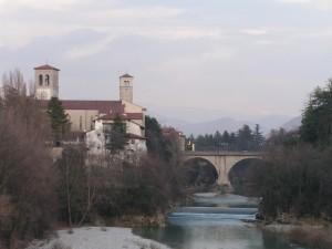 il duomo e il ponte del diavolo