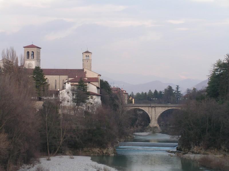 ''il duomo e il ponte del diavolo'' - Cividale del Friuli
