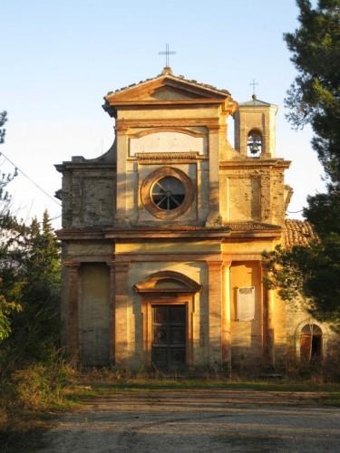 Arcevia - Chiesa Santa Maria di Costa - Arcevia