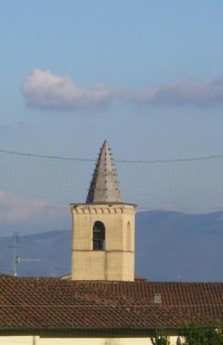 Serravalle Pistoiese - Il campanile in..rete