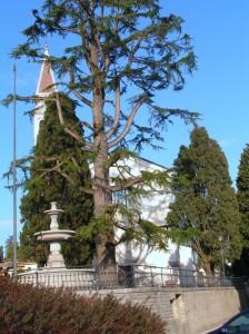 fontana sul sagrato