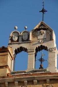 Bifora campanaria della chiesa di Santo Stefano