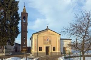 Barge - Cappella dedicata alla Madonna (fraz. Crocera)