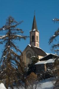Chiesa di ALDINO veduta frontale