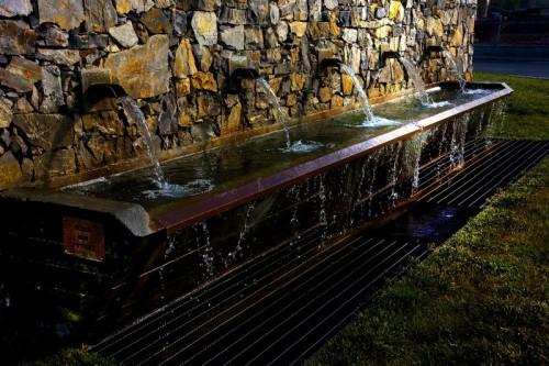 Vicopisano - Luce radente alla fontana di Uliveto terme