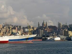 guglie oltre il porto