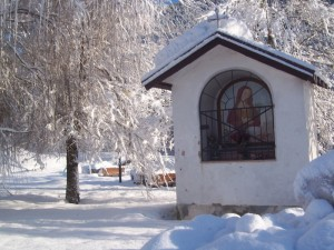 Capitello Santa Appollonia invernale