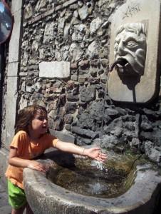 caldo d'agosto in sicilia