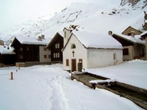 gita a Riale sotto la neve