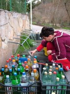 Provvista alla fonte (Contursi Terme -Salerno)