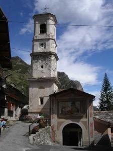 Canosio, frazione Preit, chiesa di San Lorenzo