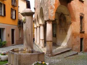 fontana in Cannobio ( Lago Maggiore)