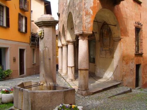 Verbania - fontana in Cannobio ( Lago Maggiore)
