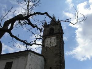 Moncenisio (un tempo Ferrera Cenisio), campanile della Chiesa di San Giorgio