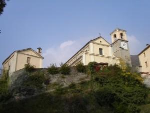 Lemie, Valle di Viù, parrocchiale San Michele Arcangelo e Oratorio del Gesù