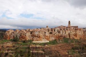 Lassù, sul Borgo Antico…