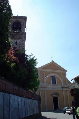 Morazzone - Il sagrato della chiesa