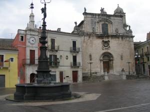 La fontana di piazza della Libertà