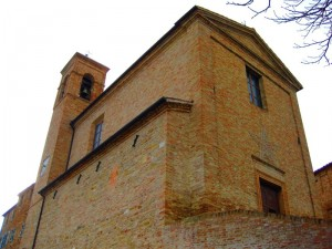 Chiesa di Montale, frazione di Arcevia