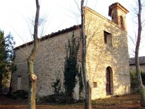 Chiesa Madonna della Piana, frazione Castiglioni, Arcevia