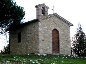 Chiesetta di San Vincenzo, frazione Castiglioni, Arcevia