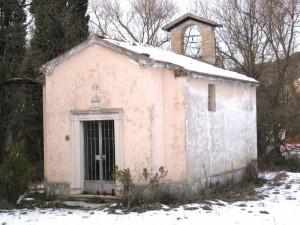 Chiesetta di Sant'Anna, frazione Caudino, Arcevia