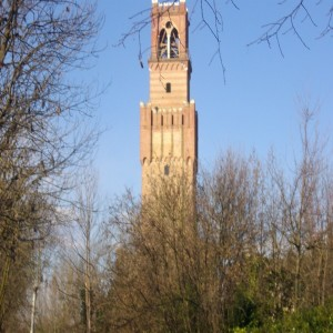 campanile dal parco