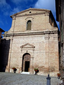 Chiesa di Piticchio, frazione di Arcevia