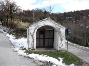 Chiesetta bivio Avacelli e Rocchetta, Arcevia