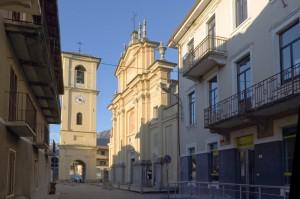 Borgofranco d'Ivrea - Chiesa della Madonna del Rosario e dei Santi Maurizio e Germano